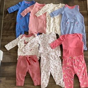 Baby Gap Bundle 10 pieces for baby girl 0-3 m